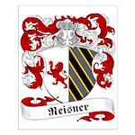 Reisner Family Crest Small Poster