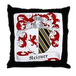 Reisner Family Crest Throw Pillow