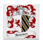 Reisner Family Crest Tile Coaster