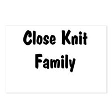 Close Knit Family Postcards (Package of 8)
