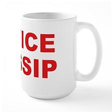 "Office gift mug says ""Office Gossip"". Mug"