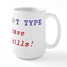 Funny mug for the secretary, typist, receptionist