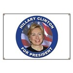 Hillary Clinton for President Banner