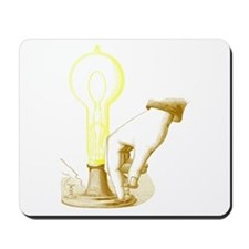 Edison Light Mousepad