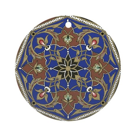 Pattern 19 Ornament (Round)