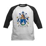 Kirchmann Family Crest Kids Baseball Jersey