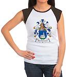 Kirchmann Family Crest Women's Cap Sleeve T-Shirt
