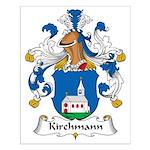 Kirchmann Family Crest Small Poster