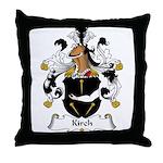 Kirch Family Crest Throw Pillow