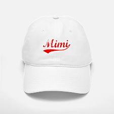 Vintage Mimi (Red) Baseball Baseball Cap