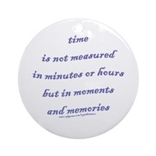 Moments and Memories Ornament (Round)