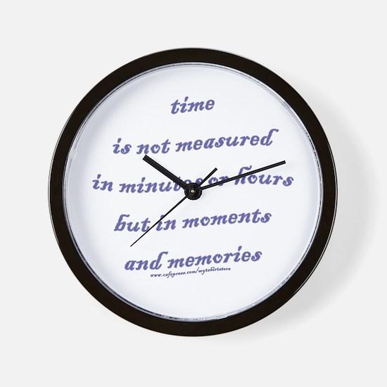 Moments and Memories Wall Clock