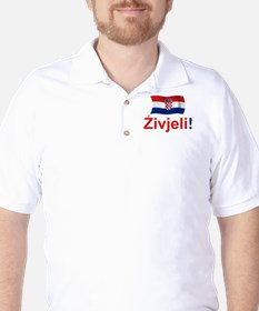 Croatian Zivjeli Golf Shirt