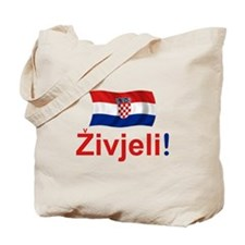 Croatian Zivjeli Tote Bag