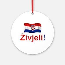 Croatian Zivjeli Ornament (Round)