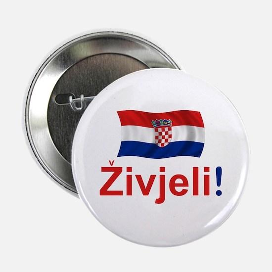 "Croatian Zivjeli 2.25"" Button"
