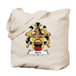 Kern Family Crest Tote Bag