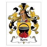 Kern Family Crest Small Poster