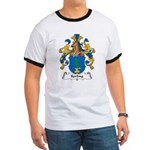 Kerling Family Crest Ringer T