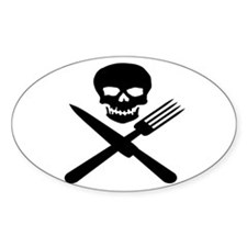 skullandknifefork Decal