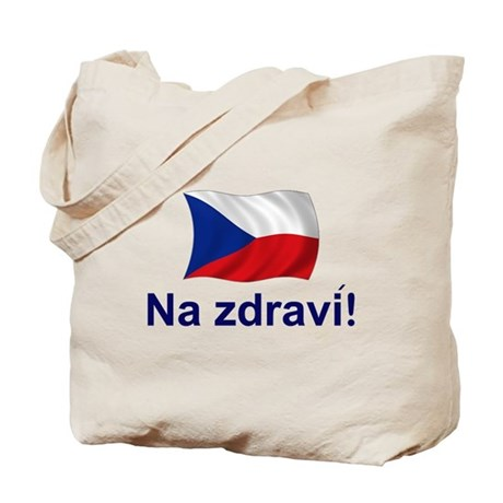 Czech Na zdravi! Tote Bag