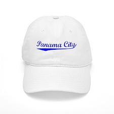Vintage Panama City (Blue) Baseball Cap