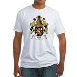 Keck Family Crest Fitted T-Shirt