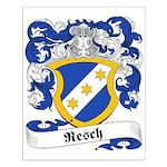 Resch Family Crest Small Poster