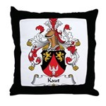 Kaut Family Crest Throw Pillow