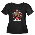 Kaut Family Crest Women's Plus Size Scoop Neck Dar
