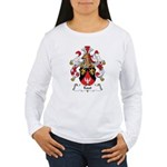 Kaut Family Crest Women's Long Sleeve T-Shirt