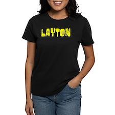 Layton Faded (Gold) Tee