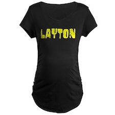 Layton Faded (Gold) T-Shirt
