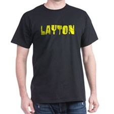 Layton Faded (Gold) T-Shirt