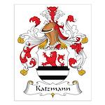 Katzmann Family Crest Small Poster