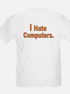 Unique Hate computers T-Shirt