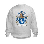 Katt Family Crest Kids Sweatshirt