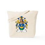 Kaser Family Crest Tote Bag