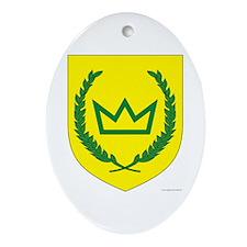 West Kingdom Oval Ornament