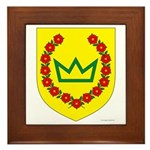 Queen of the West Framed Tile