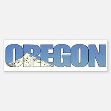 Oregon with Mt. Hood Bumper Bumper Bumper Sticker