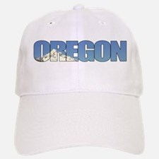 Oregon with Mt. Hood Baseball Baseball Cap
