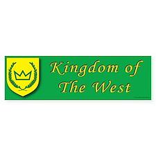 Kingdom of the West Bumper Sticker