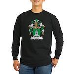 Kappe Family Crest Long Sleeve Dark T-Shirt