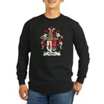 Kapler Family Crest Long Sleeve Dark T-Shirt