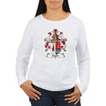 Kapler Family Crest Women's Long Sleeve T-Shirt