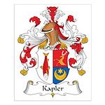Kapler Family Crest Small Poster