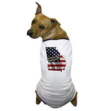 Unique Made georgia Dog T-Shirt