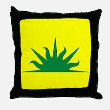 West kingdom Populace Throw Pillow