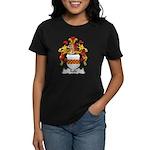Kalle Family Crest Women's Dark T-Shirt